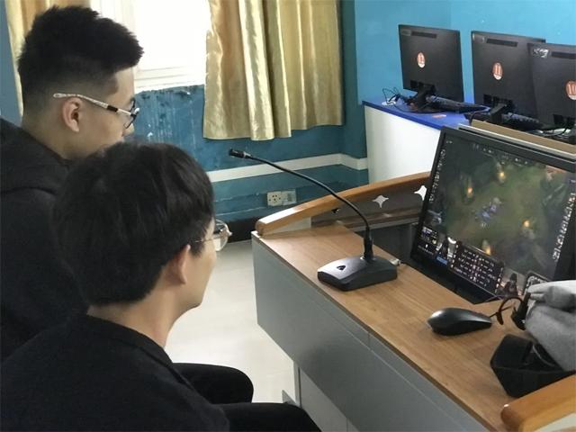 广东岭南现代技师学院电竞专业