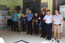 广州开发区援建和对外经济合作局林卫群同志莅临黄埔扶贫馆考察!