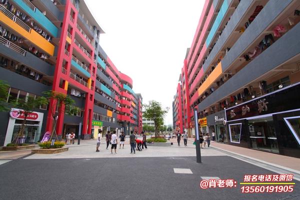 广东岭南现代技师学院校园环境实拍图片