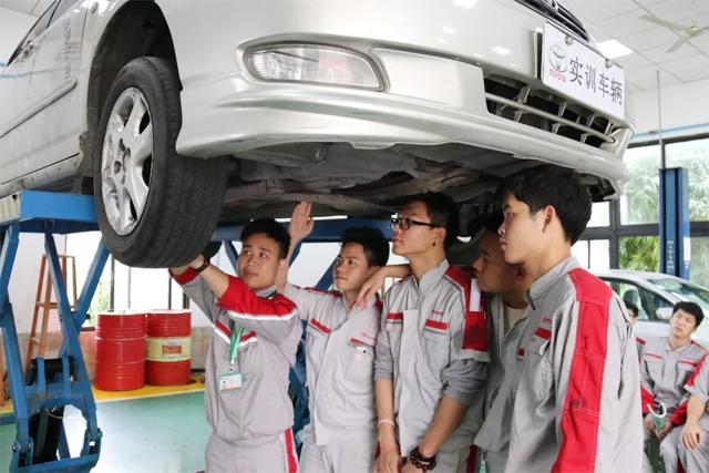 广东岭南现代技师学院汽车维修专业