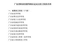 喜讯,岭南现代技师学院成为省职业技能等级认定试点单位